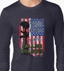 Proud Daughter of a Fallen Soldier Veterans Day Shirt T-Shirt