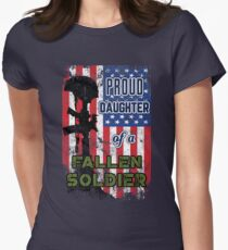 Proud Daughter of a Fallen Soldier Veterans Day Shirt T-Shirt