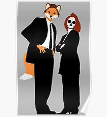Fox and Scully - The X Files Poster