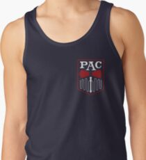 PAC Logo - Red and White (Small) Tank Top