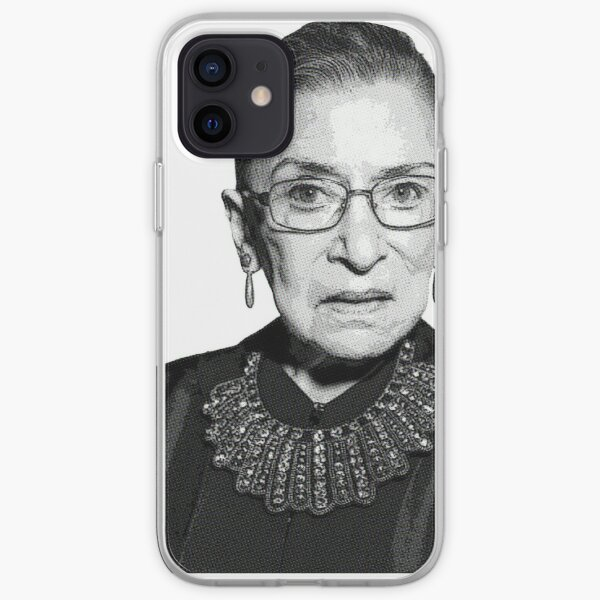 RBG Dissent Collar Ruther Bader Ginsburg iPhone Soft Case