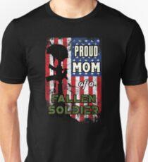 Proud Mom of a Fallen Soldier Veterans Day Shirt T-Shirt
