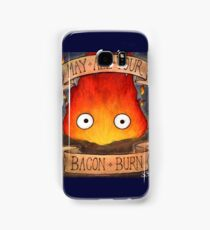 Studio Ghilbi Illustration: CALCIFER #3 Samsung Galaxy Case/Skin