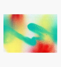 Spraying Paint Photographic Print