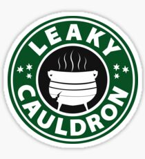 Leaky Cauldron Sticker