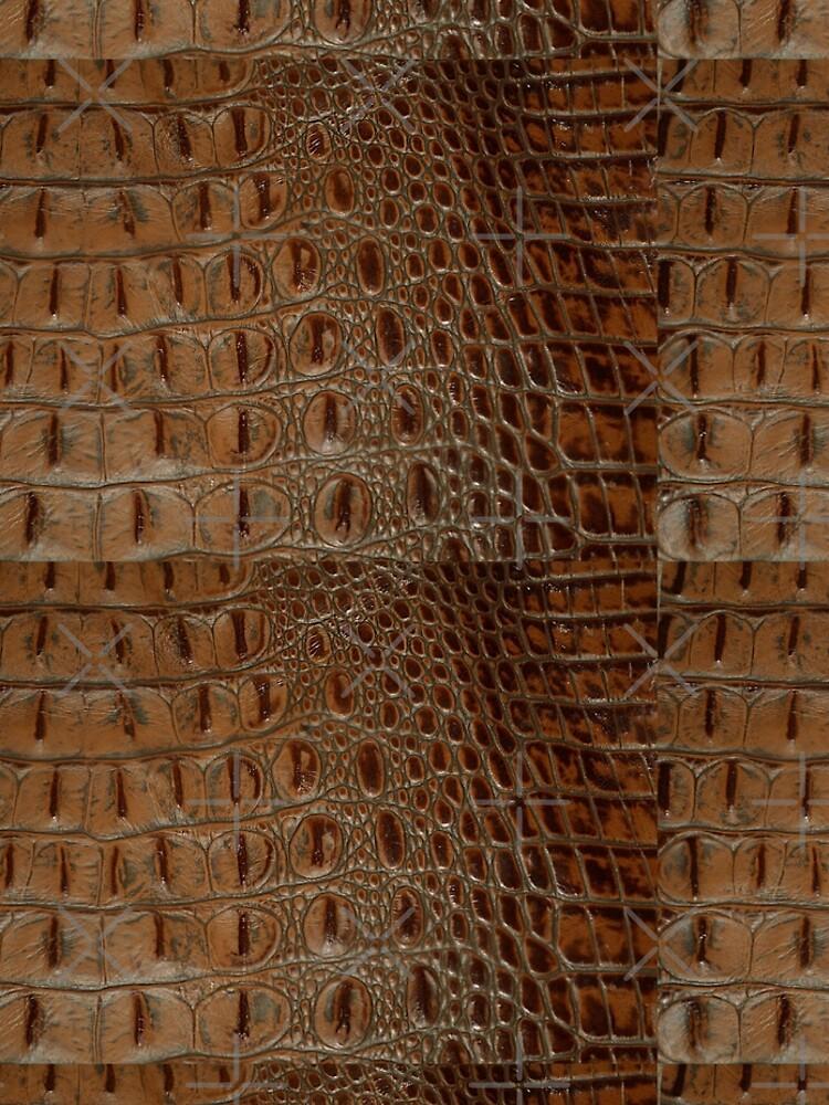 2D Photo-sampled Faux-Crocodile Leather-effect by RavenPrints