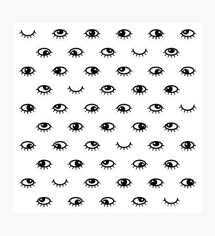 Black eyes Impression photo