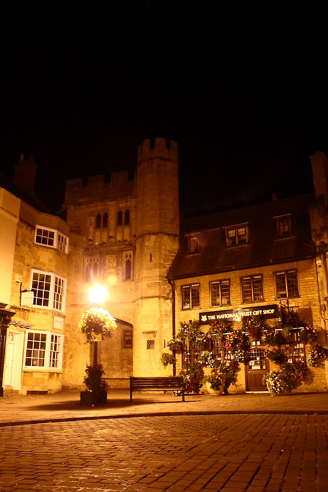 The City of Wells at Night by torimages