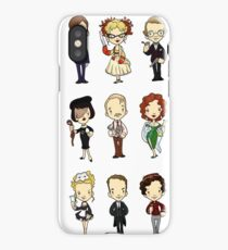 WHO-DUN-IT iPhone Case
