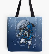 """... And I am the SHARK"" Tote Bag"