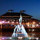 Swordfish Fountain Club by EnchantedDreams