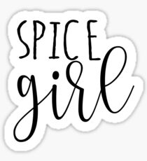 Spice Girl Sticker