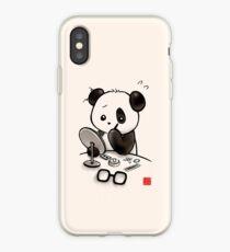 Panda Makeup iPhone Case