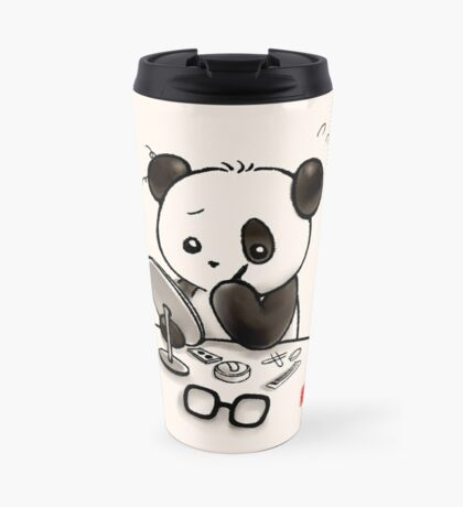 Panda Makeup Travel Mug