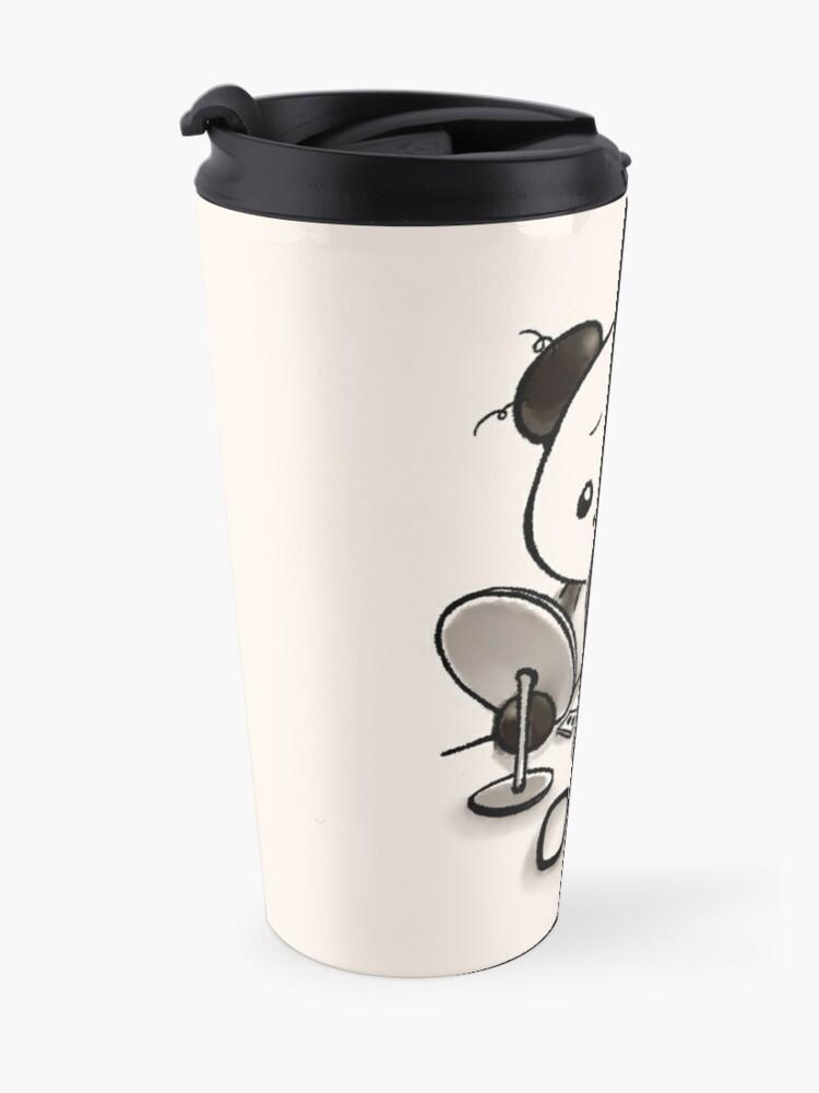 Alternate view of Panda Makeup Travel Mug