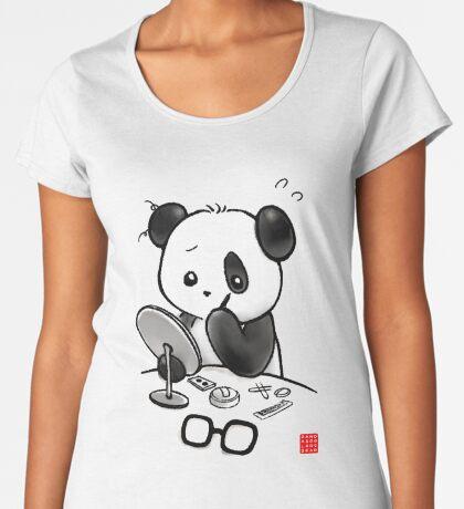 Panda Makeup Premium Scoop T-Shirt