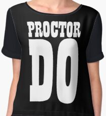 PROCTOR DO Women's Chiffon Top