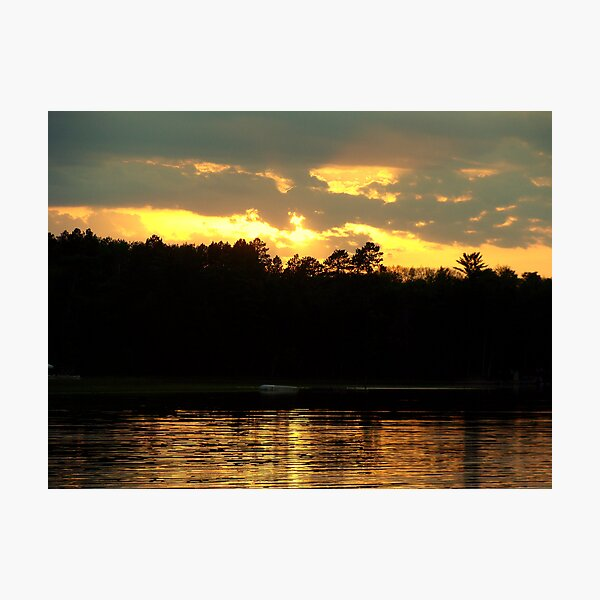 Perfect Ending Photographic Print