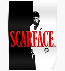 Al Pacino - Scarface Poster