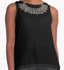 RUTH BADER GINSBURG DISSENT COLLAR RBG Contrast Tank
