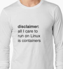 linux containers T-Shirt