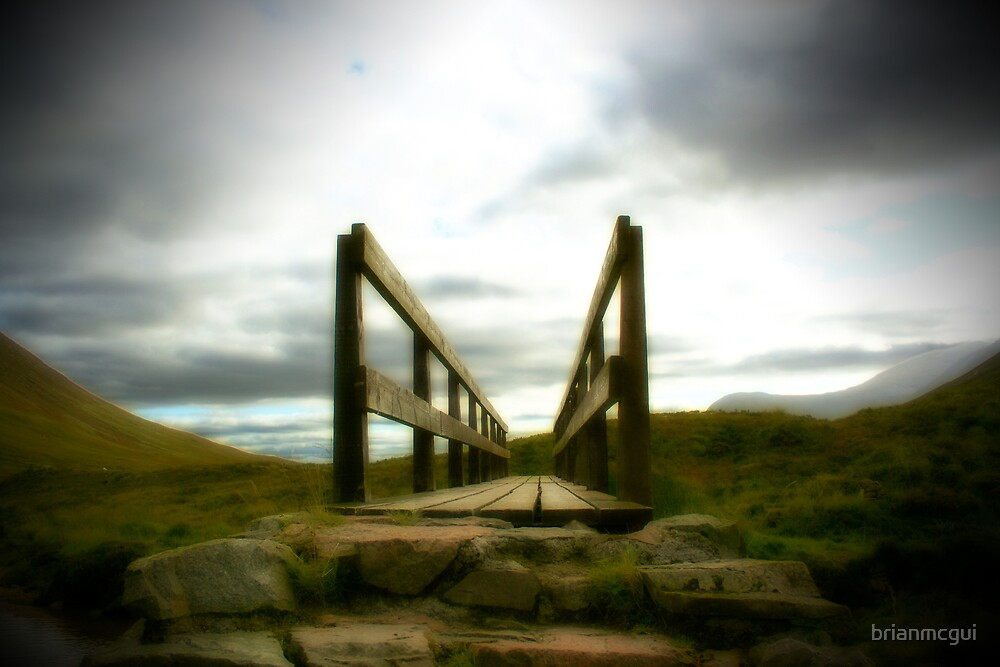Buachaille Etive Mor-bridge by brianmcgui
