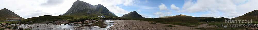 Buachaille Etive Mor-pano by brianmcgui