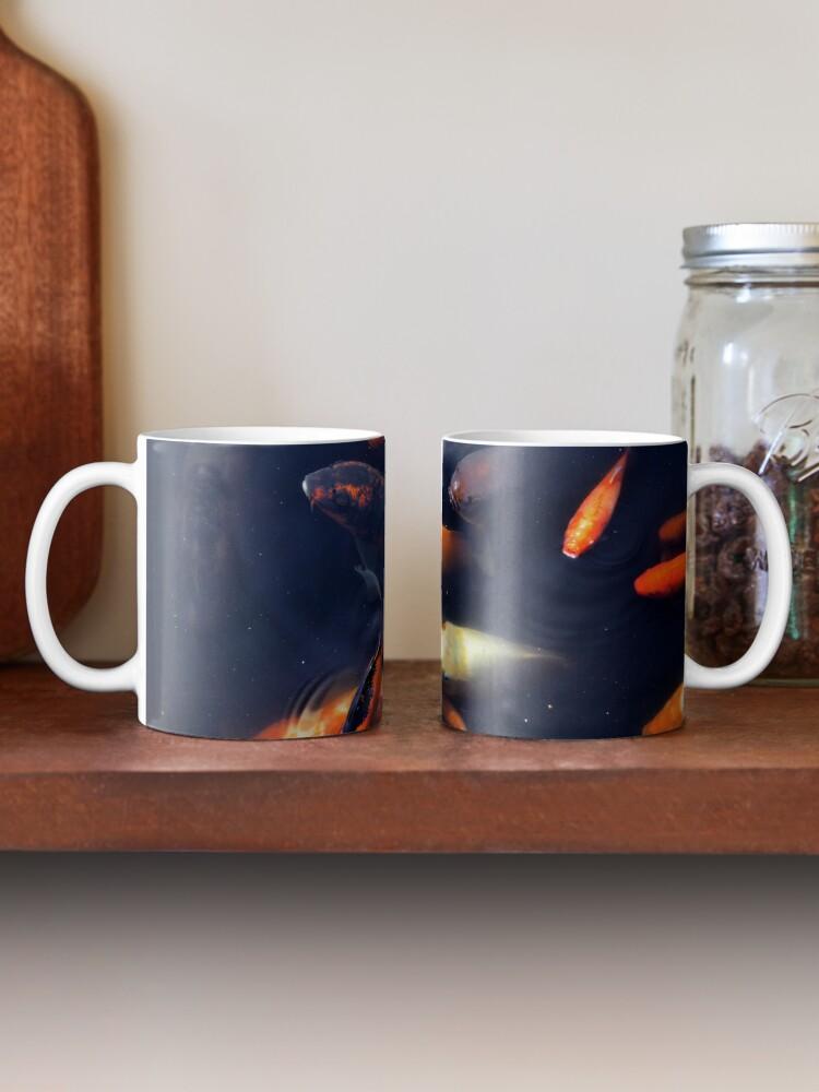 Alternate view of fish Mug