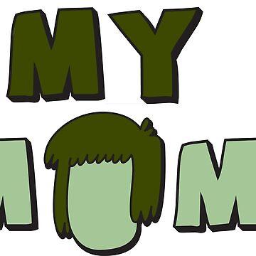 Muscle Man - My Mom!  by cherrypiez