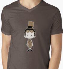 Little Inventor Mens V-Neck T-Shirt
