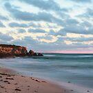 Cliffs at Burns Beach by Andreas Koepke
