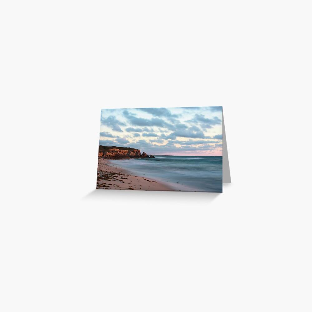 Cliffs at Burns Beach Greeting Card