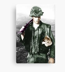Doomed to Repeat Canvas Print