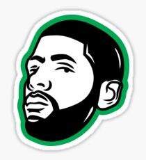 Kyrie Irving Face Sticker