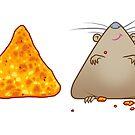Rat Loves Doritos by cs3ink