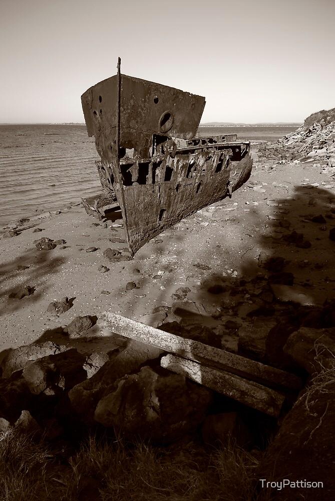 Gayundah Wreck by TroyPattison