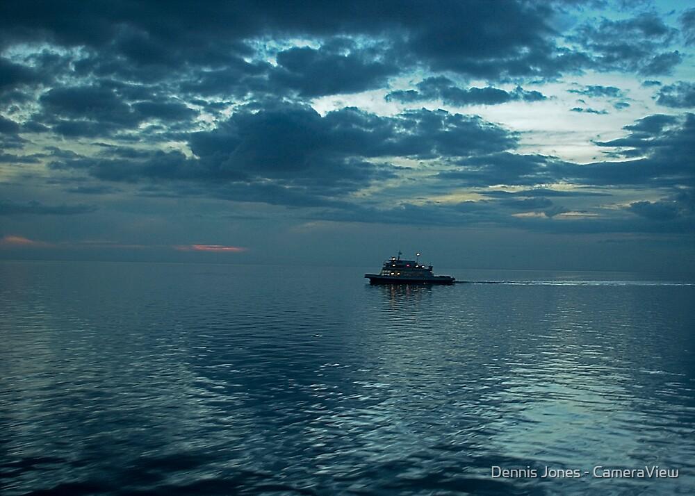 Heading Back to Ocracoke Island by Dennis Jones - CameraView