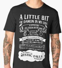 Camiseta premium para hombre Un poco de Damon en mi vida!