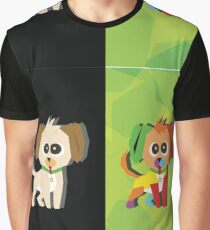 Puppies  Graphic T-Shirt
