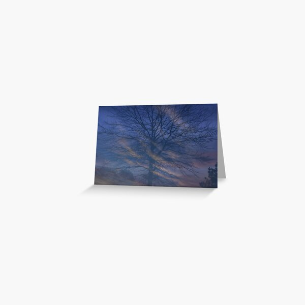 Morning Swirl Greeting Card