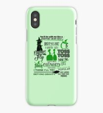 Musical Theatre Fans Quotes iPhone Case/Skin