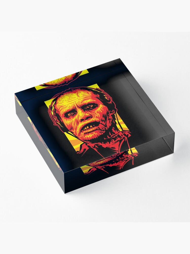 Alternate view of Bub the Zombie Acrylic Block