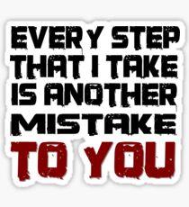 Linkin Park Lyrics Stickers Redbubble