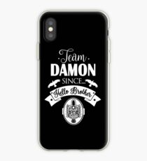 Team Damon Since Hello Brother. iPhone Case