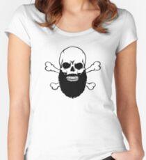 Bearded Skull Women's Fitted Scoop T-Shirt