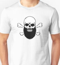 Bearded Skull Unisex T-Shirt