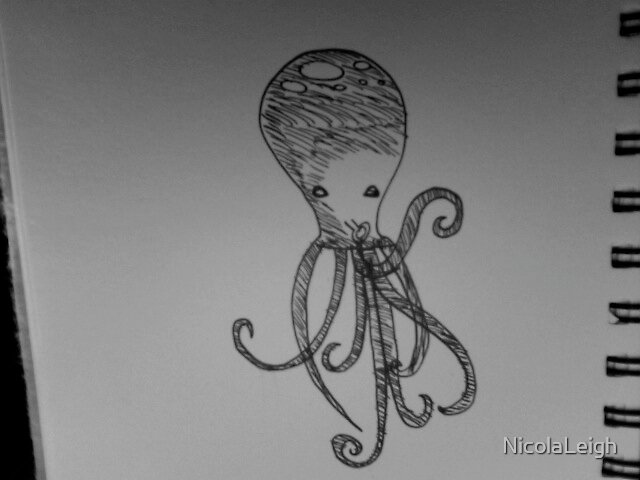 Ozzie the octopus by NicolaLeigh