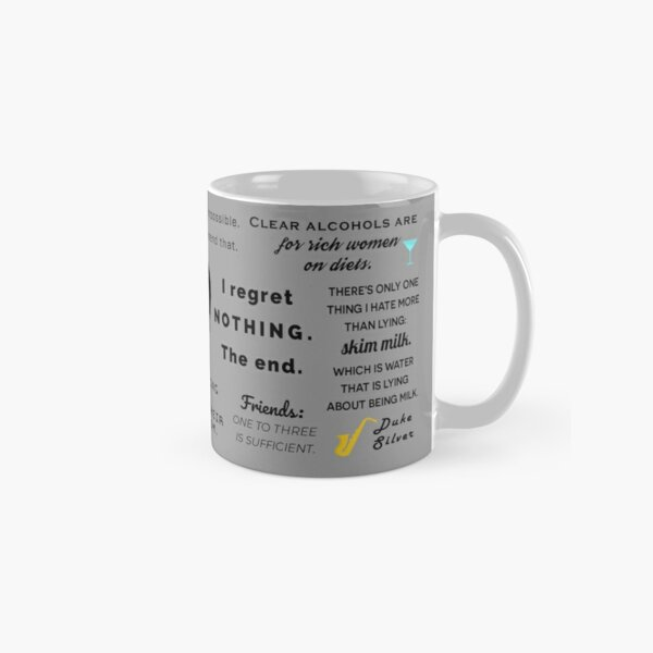 Ron Swanson - Quotes Classic Mug