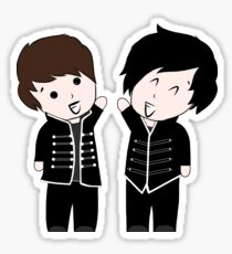 Dan and Phil in The Black Parade Sticker