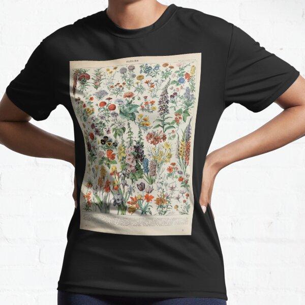 Adolphe Millot fleurs A Funktionsshirt